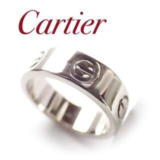 Cartier - カルティエ Cartier K18WG ラブリング WG 47号 ホワイトゴール