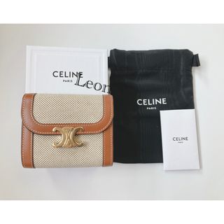 セリーヌ(celine)の新品未使用 CELINE セリーヌ トリオンフ スモールウォレット 財布(財布)