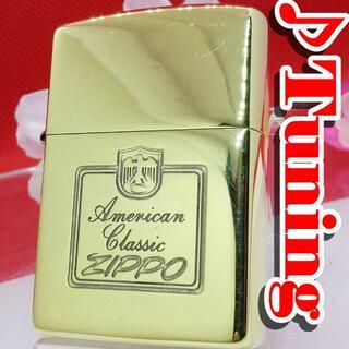 ZIPPO - №597 ZIPPO AMERICAN CLASSIC 真鍮無垢  I VIII