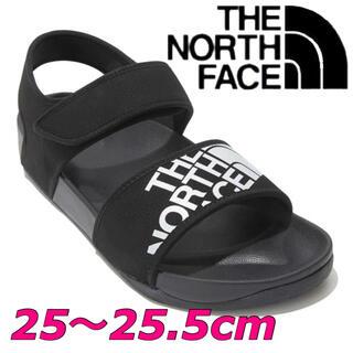 ザノースフェイス(THE NORTH FACE)の日本未発売 ノースフェイス サンダル 黒 25〜25.5cm(サンダル)