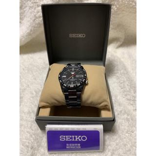 SEIKO - セイコー5 7S26-02T 自動巻腕時計 ブラック