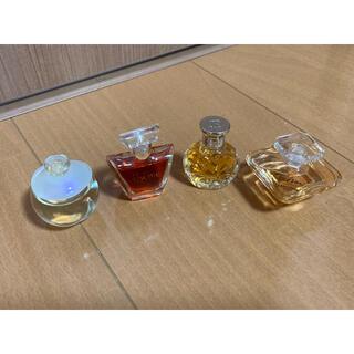 ランコム(LANCOME)の未使用品 ランコム ミニ香水 トレゾア 他 4点セット(香水(女性用))