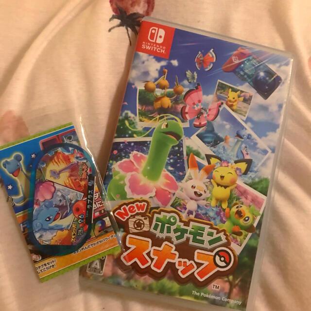任天堂(ニンテンドウ)のNEW ポケモンスナップ&ラプラスメザスタ付き エンタメ/ホビーのゲームソフト/ゲーム機本体(家庭用ゲームソフト)の商品写真