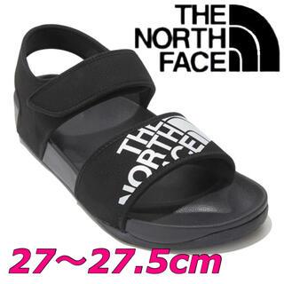 ザノースフェイス(THE NORTH FACE)の日本未発売 ノースフェイス サンダル 黒 27〜27.5cm(サンダル)