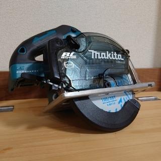マキタ(Makita)の【リョウ様専用】マキタ 18V 新品 充電式チップソーカッター CS553DZS(工具/メンテナンス)