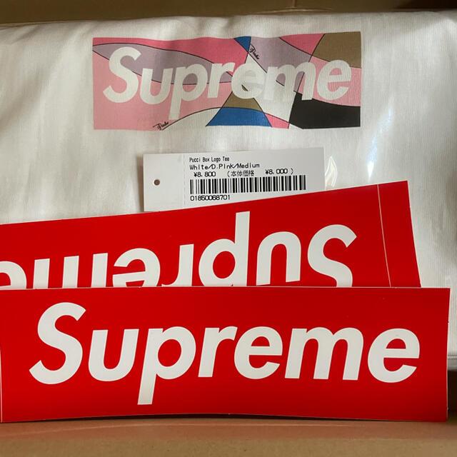 Supreme(シュプリーム)のSupreme Emilio Pucci Box Logo Tee size M メンズのトップス(Tシャツ/カットソー(半袖/袖なし))の商品写真