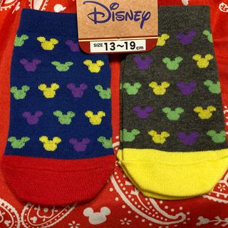 Disney - 新品未使用 ディズニー靴下  2足セット
