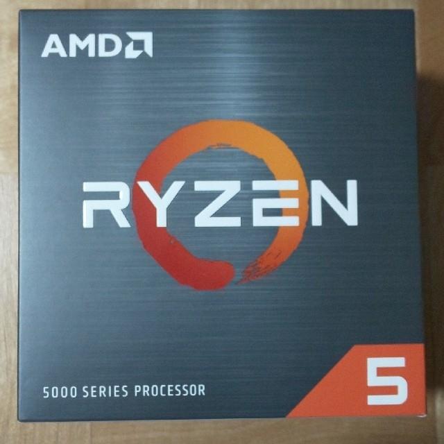 AMD Ryzen 5600X 新品未開封 送料無料 スマホ/家電/カメラのPC/タブレット(PCパーツ)の商品写真