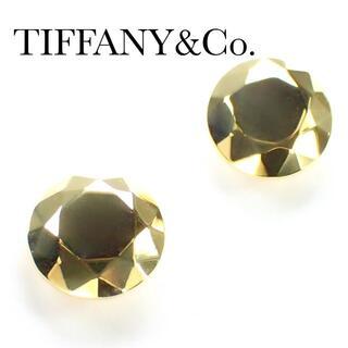 ティファニー(Tiffany & Co.)のティファニー TIFFANY K18YG ダイヤカット ピアス イエローゴールド(ピアス)