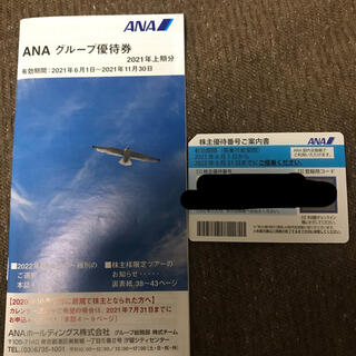 ANA 優待券 1枚(その他)