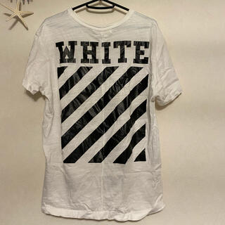 OFF-WHITE - Off-White Tシャツ ホワイト