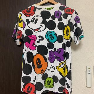 ディズニー(Disney)のディズニー ミッキー 総柄Tシャツ(Tシャツ(半袖/袖なし))