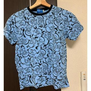 ディズニー(Disney)のディズニー ジーニー 総柄Tシャツ(Tシャツ/カットソー)