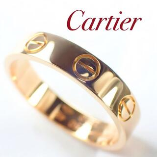 Cartier - カルティエ Cartier K18PG ミニラブリング 48号