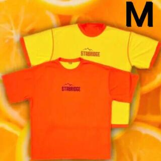 Mサイズ STABRIDGE × GRIP SWANY DRY TEE オレンジ
