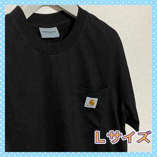 carhartt - カーハート Carhartt  ポケット ロゴ Tシャツ 新品 ブラック L
