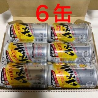 アサヒ 生ジョッキ缶 6本 アサヒスーパードライ