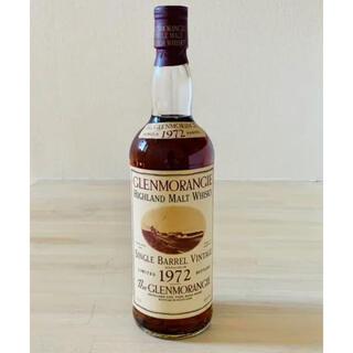 希少 グレンモーレンジ シングルバレル 1972 750ml スコッチウイスキー