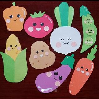 ⑤【新作・現品限り】ハーフバースデー オリジナル お野菜8点セット キューピー(その他)