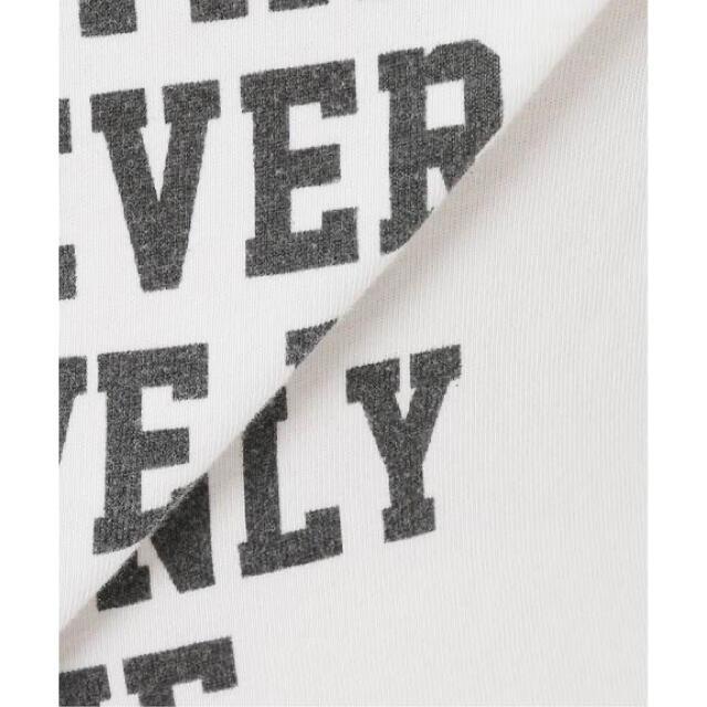 FRAMeWORK(フレームワーク)の正規品 FRAMeWORK フロントロゴハーフスリーブT 2 レディースのトップス(Tシャツ(半袖/袖なし))の商品写真