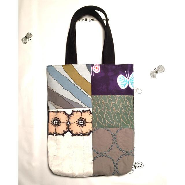 mina perhonen(ミナペルホネン)のミナペルホネン ハンドメイド バッグ セール中✩︎⡱ レディースのバッグ(ハンドバッグ)の商品写真