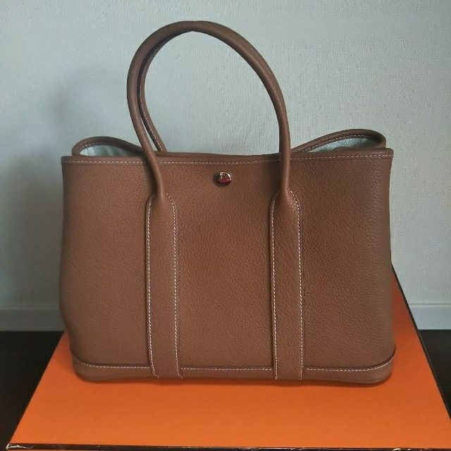 Hermes(エルメス)のHERMES ガーデンパーティ レディースのバッグ(ハンドバッグ)の商品写真