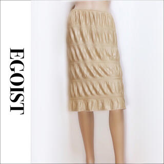 EGOIST - EGOIST 膝丈 デザイン スカート*ムルーア ジーナシス アナップ マウジー