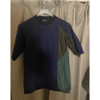 kolor - kolor 切り替えTシャツ