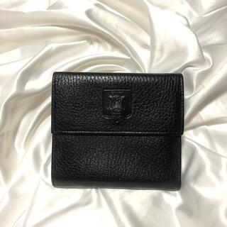 セリーヌ(celine)のセリーヌ ブラゾンロゴ レザー財布(財布)