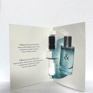 ティファニー(Tiffany & Co.)のTiffany&Co ティファニー&ラブ フォーヒム  1.5ml 香水サンプル(香水(男性用))