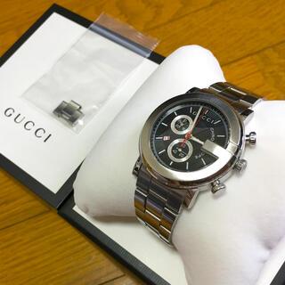 グッチ(Gucci)の【希少】GUCCI クロノグラフ(腕時計(アナログ))
