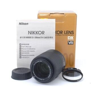 ニコン(Nikon)の携帯性抜群の望遠レンズ♪Nikon AF-S DX 55-200mm VR Ⅱ(レンズ(ズーム))