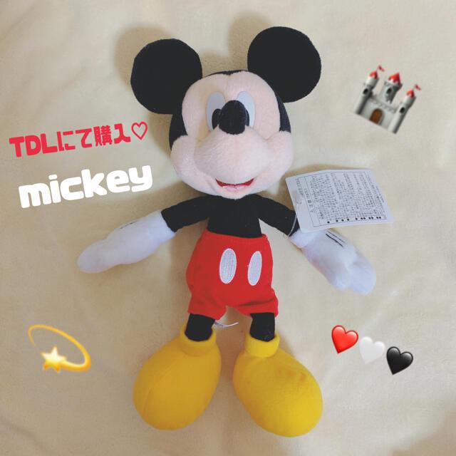 Disney(ディズニー)のミッキー ぬいぐるみ ディズニーランド TDL エンタメ/ホビーのおもちゃ/ぬいぐるみ(ぬいぐるみ)の商品写真
