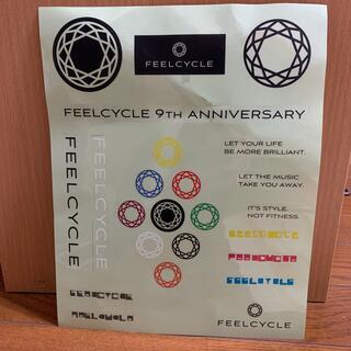 FEELCYCLE 9th  アニバーサリー ステッカー