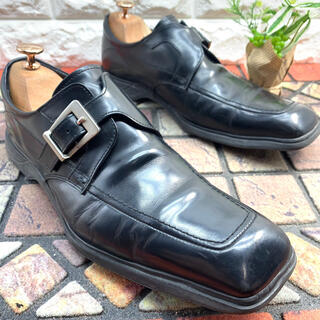 キャサリンハムネット(KATHARINE HAMNETT)のKATHARINE HAMNETT ビジネスシューズ 革靴 モンクストラップ(ドレス/ビジネス)