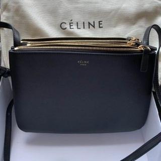 celine - Celine トリオ ショルダーバッグ