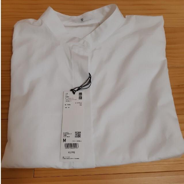 UNIQLO(ユニクロ)のUNIQLO スーピマコットン ドルマンスリーブシャツ レディースのトップス(シャツ/ブラウス(長袖/七分))の商品写真