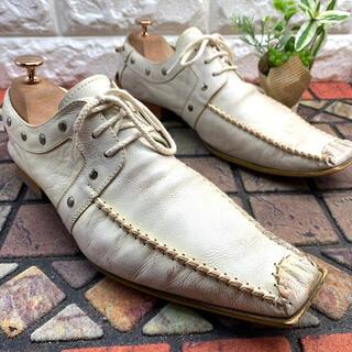 キャサリンハムネット(KATHARINE HAMNETT)のKATHARINE HAMNETT 革靴  ロングノーズ スニーカー(スニーカー)
