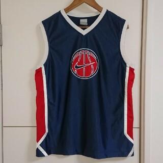 NIKE - NIKE ナイキ タンクトップ 刺繍 スウッシュ 古着 バスケットボール