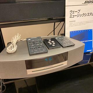 ボーズ(BOSE)のBOSE ボーズ ウェーブミュージックシステム スピーカー  CDプレーヤー(スピーカー)