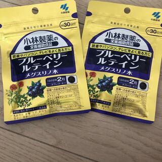 コバヤシセイヤク(小林製薬)の小林製薬ブルーベリー ルテイン メグスリノ木 30日分 2袋(ビタミン)