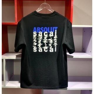 SACAI 21SS  ブラック Tシャツ