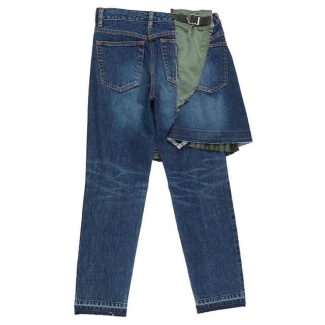 sacai(サカイ)のsacai デニムパンツ 2 メンズのパンツ(デニム/ジーンズ)の商品写真
