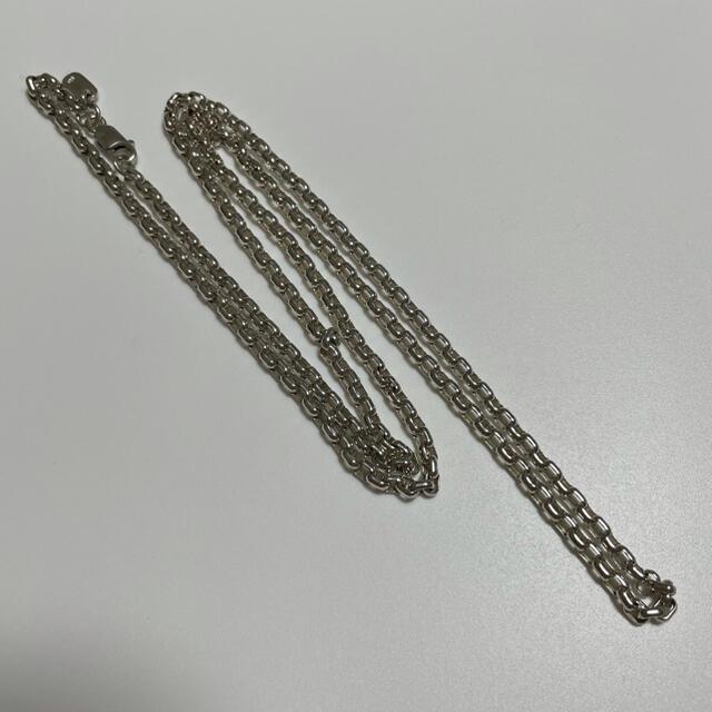 シルバー925/チェーン/ネックレス/70cm メンズのアクセサリー(ネックレス)の商品写真