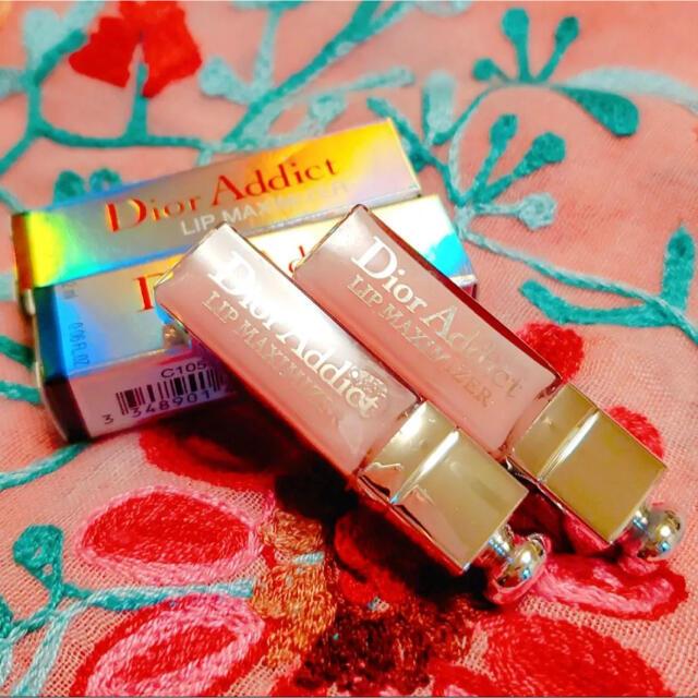 Dior(ディオール)の2本セット Dior ディオール アディクト リップ マキシマイザー ミニ コスメ/美容のスキンケア/基礎化粧品(リップケア/リップクリーム)の商品写真