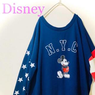 Disney - ミッキーマウス ロゴ スウェット