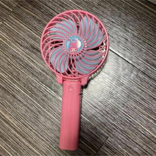 マイメロディ - ハンディファン マイメロディ マイメロ 扇風機 手持ち ピンク