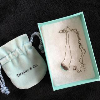 ティファニー(Tiffany & Co.)のティファニー シルバー ビーンネックレス(ネックレス)