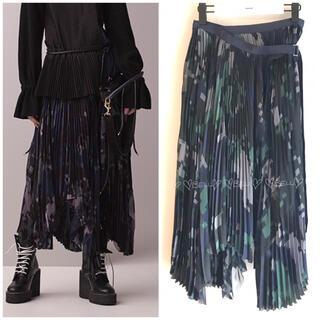 sacai - ♡サカイ♡2017プレフォール♡デジカモプリントスカート♡