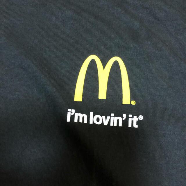 マクドナルド(マクドナルド)の未使用 USA購入 McDonald's マクドナルド企業ロゴ Tシャツ M メンズのトップス(Tシャツ/カットソー(半袖/袖なし))の商品写真